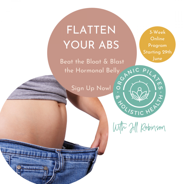 Flatten Your Abs - Beat the Bloat & Blast The Hormonal Belly